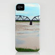 Low Tide at the Sackville Train Bridge Slim Case iPhone (4, 4s)
