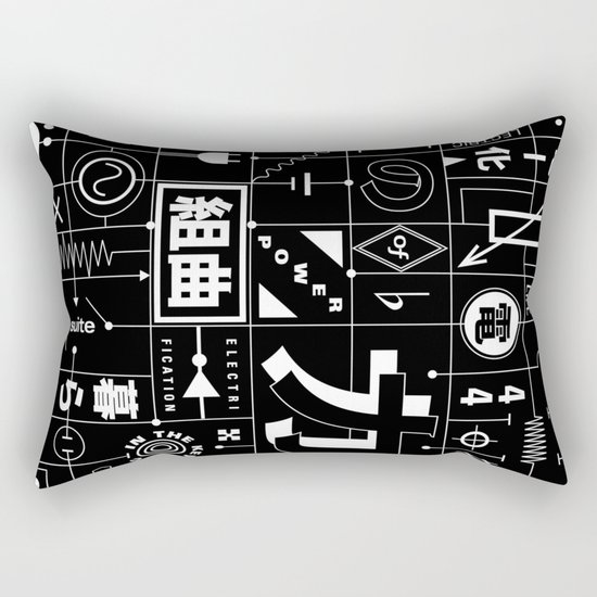 Electric Power Suite In The Key of C Rectangular Pillow