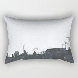 Rooftops Rectangular Pillow