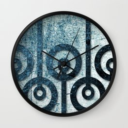 Order in Abstract I Wall Clock