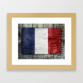 France Framed Art Print