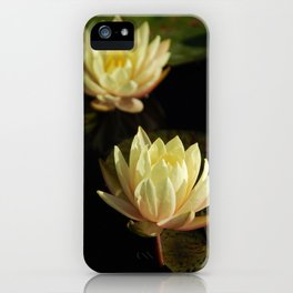 White water lilies 5 iPhone Case