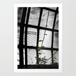 and i will climb Art Print