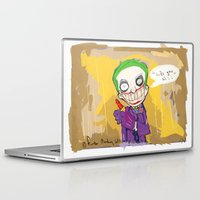 "suits Laptop & iPad Skins featuring The Joker"" suits you sir "" by Funki monkey animation studio"