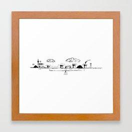 Run Mario,run¡¡ Framed Art Print