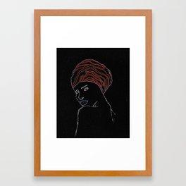 Jelani Framed Art Print