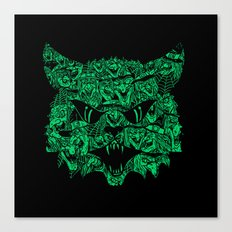 Kitty Witches Canvas Print