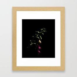 Listen to the dark Framed Art Print