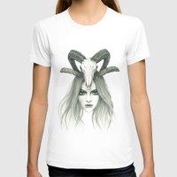 zodiac T-shirts featuring Zodiac - Aries by Simona Borstnar