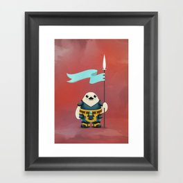 Seal the Deal Framed Art Print