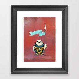 Seal the Deal Framed Art Print