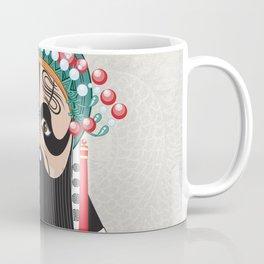 Beijing Opera Character XiangYu Coffee Mug