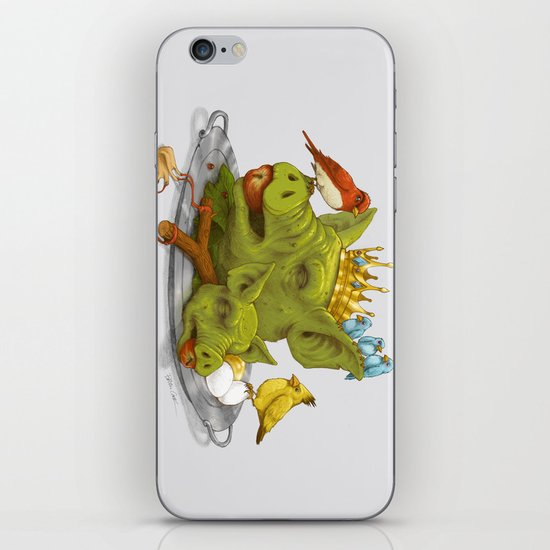 Furious Fowl iPhone Skin