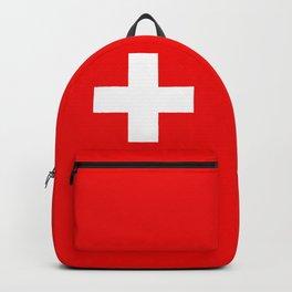 Flag of Switzerland - Swiss Flag Backpack