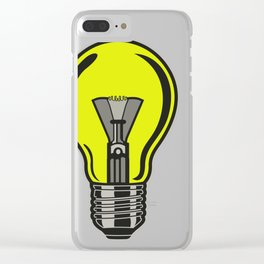 Light bulb Idea! Clear iPhone Case