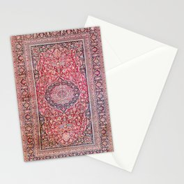 Tabriz West Central Persian Rug Print Stationery Cards