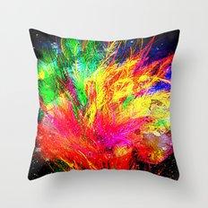 Bursting With Joy Throw Pillow