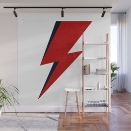Bowie David Lighting Wall Mural