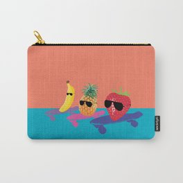 Skating Fruit Salad Carry-All Pouch