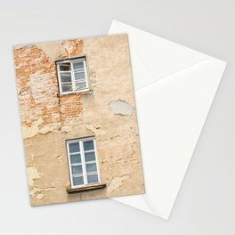 Two windows Stationery Cards