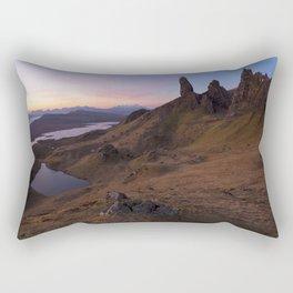 The Old Man of Storr Rectangular Pillow