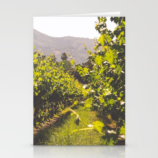 Vineyards 4 Stationery Cards