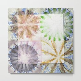 Controlling Hallucination Flower  ID:16165-151730-87231 Metal Print