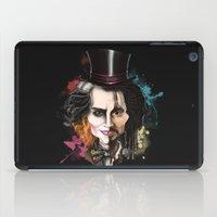 johnny depp iPad Cases featuring Johnny Depp by Owen Ballesteros
