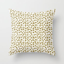Tep Triangles Throw Pillow