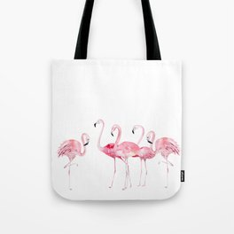 Flamingo Farm- Tropical Animal Bird World Tote Bag