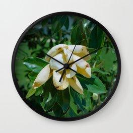 """""""Flower I"""" color still life film photo Wall Clock"""