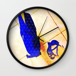 Glam Whore Wall Clock
