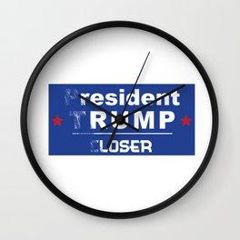 resident rump Wall Clock