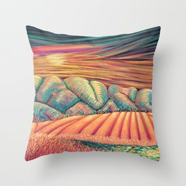 02 - Brain Forest Throw Pillow