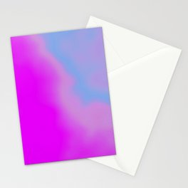 pink blue purple Stationery Cards