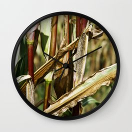 FIELD of MAIS Wall Clock
