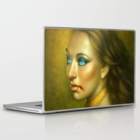vampire Laptop & iPad Skins featuring Vampire by George Patsouras