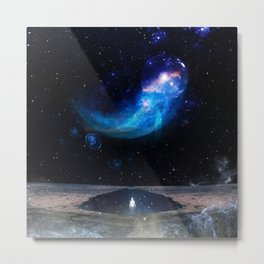 A WORLD OF MYSTERY Metal Print