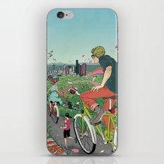 Bicycle Paths iPhone & iPod Skin