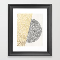 Inca Day & Night Framed Art Print