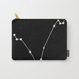 PISCES (BLACK & WHITE) Carry-All Pouch