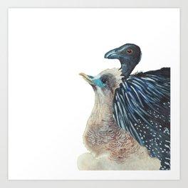 Hopeful Birds Art Print
