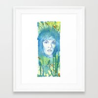 stevie nicks Framed Art Prints featuring Stevie Nicks by Jonathan Lewis