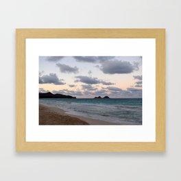 Beachside Mornings Framed Art Print