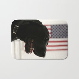 All-American Black Labrador Bath Mat