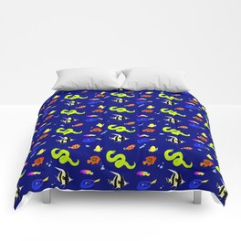 Sleeping with the fishes Comforters