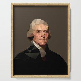 Thomas Jefferson Serving Tray