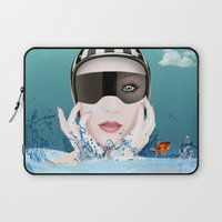 3d Laptop Sleeves featuring 3D by mark ashkenazi