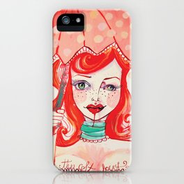 The Strawberry iPhone Case