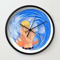 iwatobi Wall Clocks featuring Penguin by Crossroad-Goddess